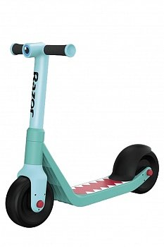 Самокат Razor Wild Ones Junior Kick Scooter Shark голубой - 585369