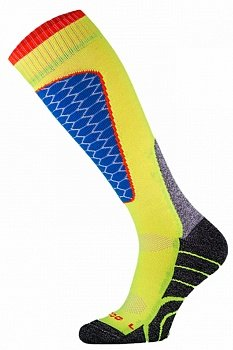 Носки горнолыжные Comodo SKI SOCKS PERFORMANCE YELLOW-BLUE - SKI1-04