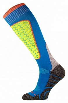 Носки горнолыжные Comodo SKI SOCKS PERFORMANCE BLUE-YELLOW - SKI1-05